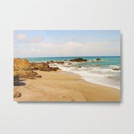 Montezuma Beach Metal Print
