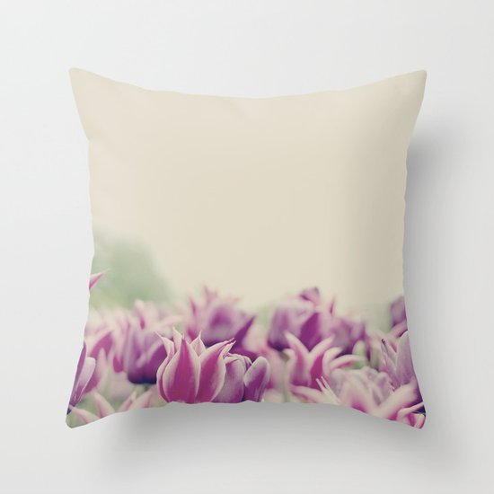 Tulips II Throw Pillow