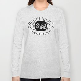 open mind eye Long Sleeve T-shirt