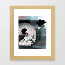 No Mammies on Saturn Framed Art Print