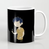 "percy jackson Mugs featuring ""Cool"" ?! Percy ?!  by CornFlakes Production"
