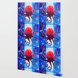 Dancing Octopus Wallpaper