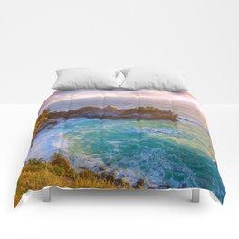 Magical Cove, Big Sur II Comforters