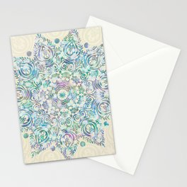 Mermaid Dreams Mandala Stationery Cards