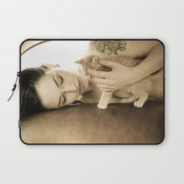 Kitten Love Laptop Sleeve