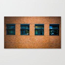 Bricks and Windows Canvas Print