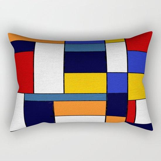 Abstract #351 Rectangular Pillow