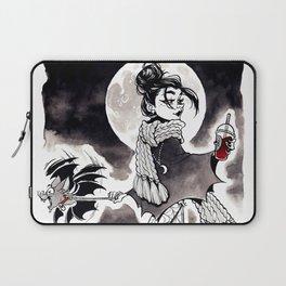 Casual Vampire Laptop Sleeve