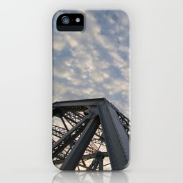 Silver Span iPhone Case