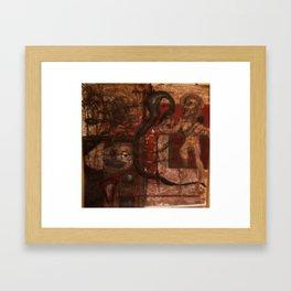figure number 1 Framed Art Print