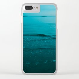 Summer of Love at the Beach Clear iPhone Case