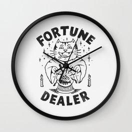 Fortune Dealer Wall Clock