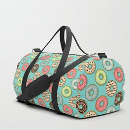Donuts pattern Duffle Bag