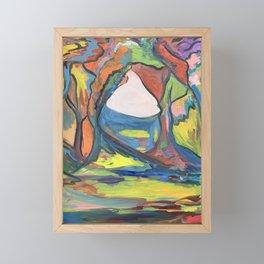 Fauvist Forest Framed Mini Art Print