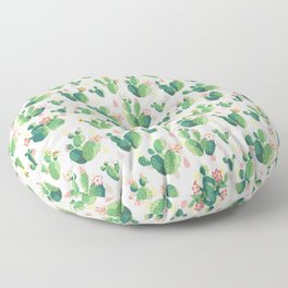 Cactus pattern Floor Pillow