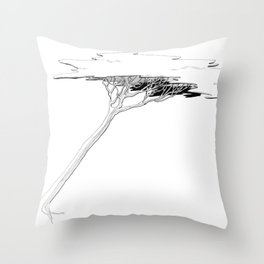 The Special Tree Throw Pillow