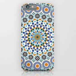 Traditional Moroccan Textile iPhone Case