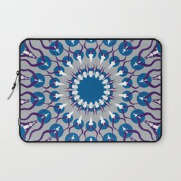 HORN PRINT blue Laptop Sleeve