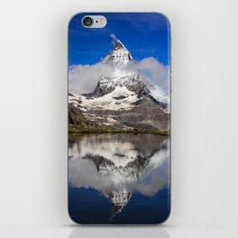 Cloudy Matterhorn iPhone Skin