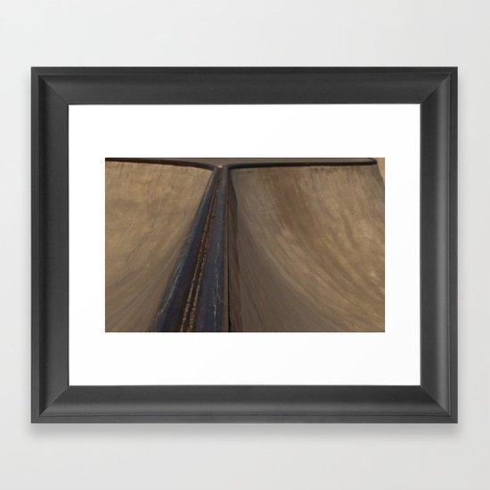 Ride the Rail Framed Art Print