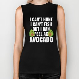 Cool Vegetarian Humor Gift for Vegans and Vegetarian Food and Animal Lovers  Biker Tank