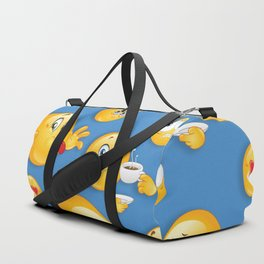 Emoji Pattern 7 Duffle Bag