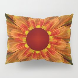 Artistic fantasy succulent flower Pillow Sham
