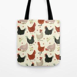 CHICKEN LADIES Tote Bag