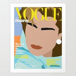 80's Icons Art Print