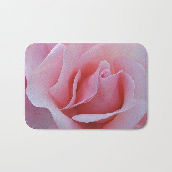 Rose Petal Pink Bath Mat
