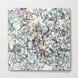fiery marble 010 Metal Print