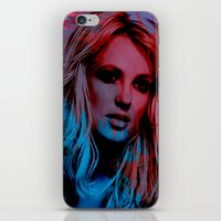 britney iPhone & iPod Skins featuring Britney Spears by Nic Moore