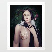 Serenity Undone Art Print