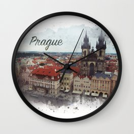 Old Town Square Prague Wall Clock