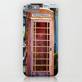 Telephone Box iPhone Case