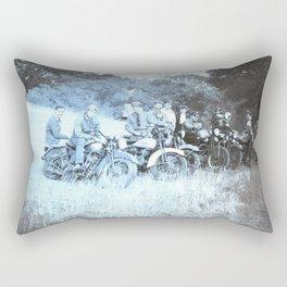 1941 Vintage Motorcycle Series Rectangular Pillow