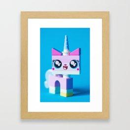 #unicorn Framed Art Print