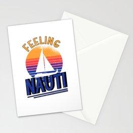 Sailing Boat Owner Sailboat Sailing Ship Captain Stationery Cards