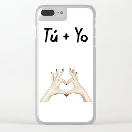 T + Y Clear iPhone Case