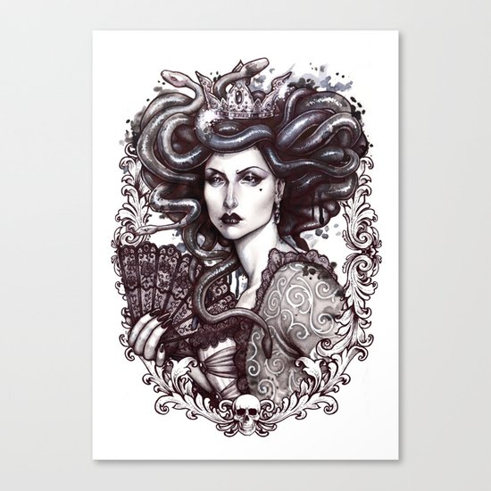 MEDUSA IMPERATRIX MUNDI Canvas Print