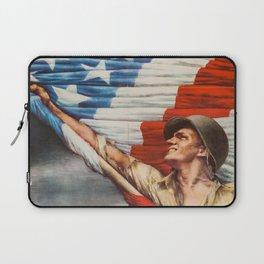 Vintage war bonds poster Laptop Sleeve
