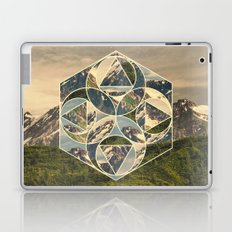 Geometric mountains 1 Laptop & iPad Skin