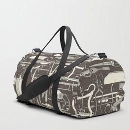 fiendish incisions dark Duffle Bag