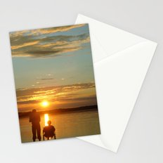 Sunset for Two Stationery Cards