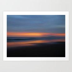 Grants Beach Sunset Art Print