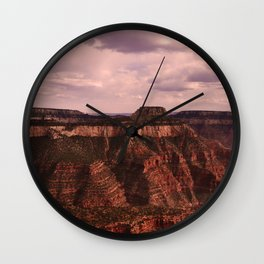 Canyons Wall Clock