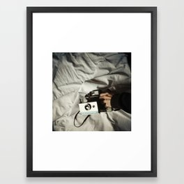 don´t let me fall sleep Framed Art Print