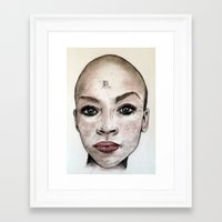 avatar Framed Art Prints featuring Avatar by Courtney James