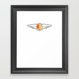 Got me Wings Framed Art Print