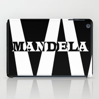 mandela iPad Cases featuring Mandela tribute by Brian Raggatt
